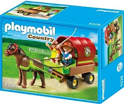 Playmobil 5228 - Granja: carreta con poni por Playmobil