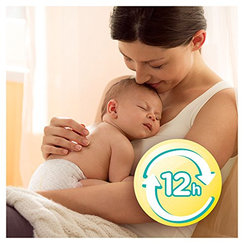 Pampers Windeln New Baby Gr. 1 Newborn 2-5 kg Tragepack, 4er Pack (4 x 23 Stück) - 4