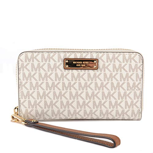 MICHAEL by Michael Kors Jet Set Travel Vanilla cartera
