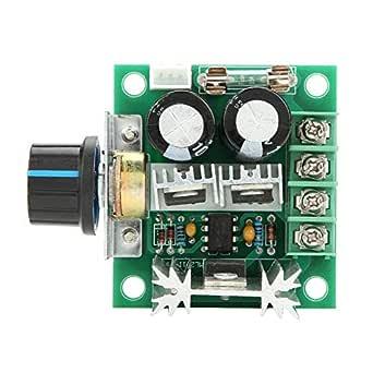 40 V 10 A PWM DC Goberatore interruttore di controllo di velocit/à variabile di Stepless FTVOGUE Controller di velocit/à del motore modulo 12 V