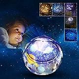Geschenke für 2-8 Jahre Mädchen Joy-Jam Sternenhimmel Projektor Baby Nachtlicht Kinderzimmer Sternenprojektor Schlafzimmer Schlummerlicht Kinderspielzeug Universum Weihnachten Geburtstagsgeschenke
