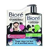 Best Bioré Face Powders - Biore Charcoal Face Cleansing Kit: Pore Strips Review