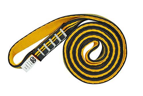 Kong anello di fettuccia aro sling tubular, arancione/nero, 180 cm
