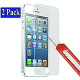 2x iPhone 4S / 4 Ultra-Klar plt24 Glasfolie Panzerglas Schutzfolie Displayschutzglas Schutzglas Hartglas für Apple iPhone 4 4S (2 Stück)