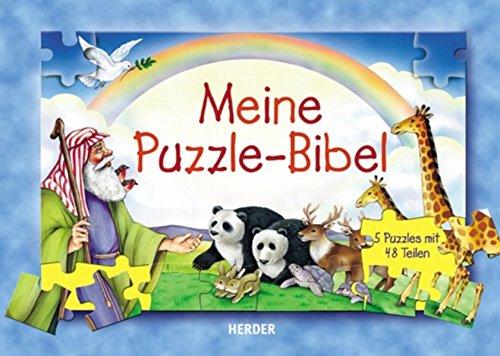 Meine Puzzle-Bibel: Fünf Puzzles mit je 48 Teilen