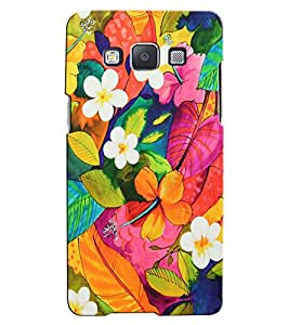 Citydreamz Colorful Flowers\Nature Hard Polycarbonate Designer Back Case Cover For Samsung Galaxy J5