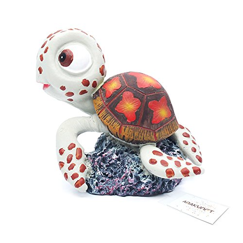 korationen, Disney Finding Dory, Nemo Kleine Fische Kunstharz Tank Ornaments 4Packungen, gehören Dory, Nemo, Crush, Gill und Bruce ()