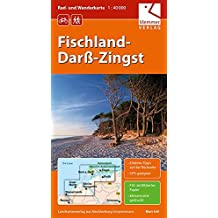 Rad- und Wanderkarte Fischland-Darß-Zingst: Maßstab 1:40.000, GPS geeignet, Erlebnis-Tipps auf der Rückseite