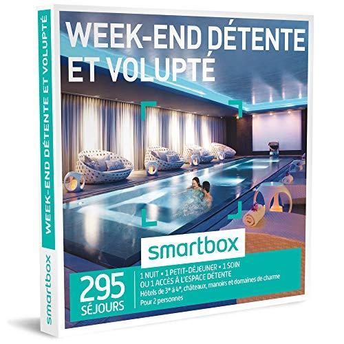 SMARTBOX - Coffret Cadeau homme femme couple - Week-end détente et volupté - idée...