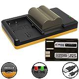 2x Akku + Dual-Ladegerät (USB) für Canon BP-511 / EOS 30D, 50D, 300D.. / EOS D30 D60.. / G3 G5 G6.. / Optura 200MC... / MV.. FV.. ZR.. s. Liste - inkl. Micro-USB-Kabel