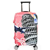 Dometool Reise Gepäck Bezug Koffer Schutz Tasche Polyester Spandex Stretch Stoffbezug 18-32 Zoll