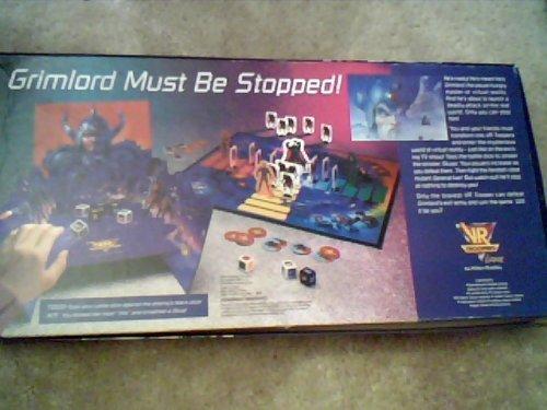 VR Troopers Board Game (Milton Bradley) (Board Games Z) by Milton Bradley