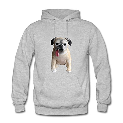 Women's Creative Funny Dog/Puppy Pattern Pullover Hoodies Sweatshirts Long Sleeve Casual Unisex Tops M (Camo Hoodie Dog Sweatshirt)