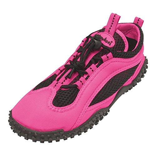 GALLUX - Aquaschuhe Strandschuhe Schwimmschuhe Aqua Schuhe Neonfarben Pink