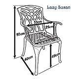 Lazy Susan Gartenmöbel Outlet Metall - 5
