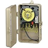 Intermatic T101P201 125V temporizador SPST 40 amperios tiempo mecánico Interruptores