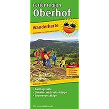 WM Ferienregion Oberhof: Wanderkarte mit Ausflugszielen, Einkehr- & Freizeittipps, wetterfest, reissfest, abwischbar, GPS-genau. 1:30000 (Wanderkarte / WK)