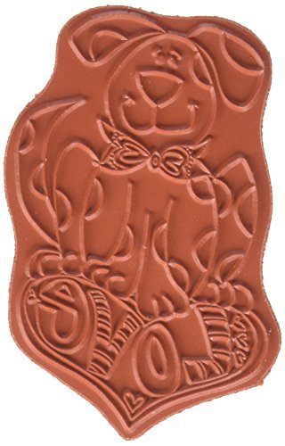 Whipper Snapper Designs CU014 Love Dog Cling Stamp, 4 by 6, Red by Whipper Snapper Designs (Dog Snapper)