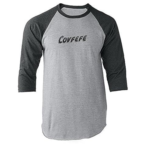Pop Threads - T-Shirt à manches longues - Homme - gris - Medium