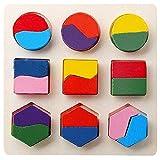 MagiDeal-3-Juegos-Rompecabeza-de-Madera-Multicolor-Bloque-de-Geometra-Juguete-Educativos-Nios