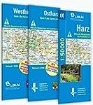 Wandern im Harz: Harzwanderkarten-Set...
