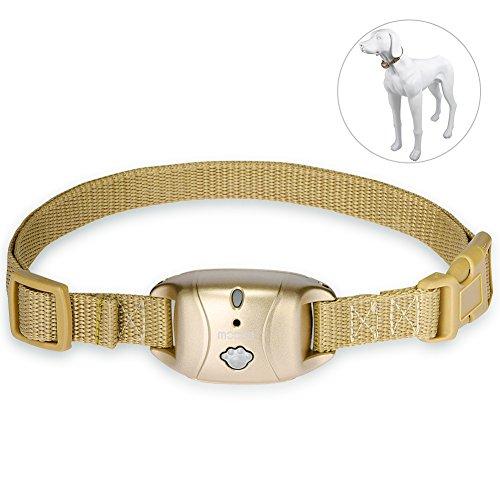 Petacc Hunde Halsband Anti-Bell-Halsbänder Halsband Hundetraining Halsband für Hunde (Anti-Bell-Halsbänder) (Kragen Bellen Hund Schock)