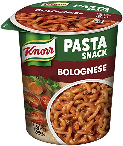 Knorr Snack Bar Pasta Snack Bolognese-Sauce 1 Portion (8 x 68 g)