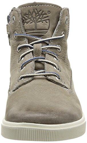 Timberland 2 0 Ek6inlace/zip, Jungen Hohe Sneakers Grau (Gris (Beige))