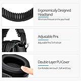 Ear Muffs Headband Mpow Sicherheit Ohrenschützer SNR 34 dB Gehörschutz - 5
