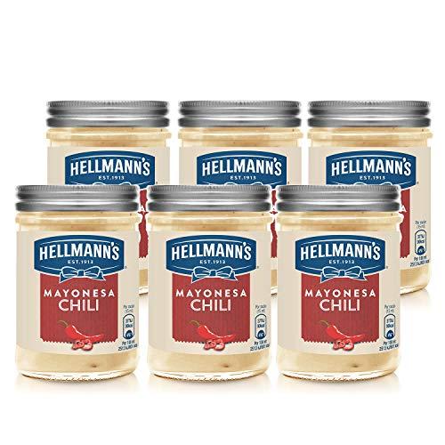 HELLMANN'S PREMIUM MAYONESA CHILE 190ml - Pack de 6: Total de 1.14L