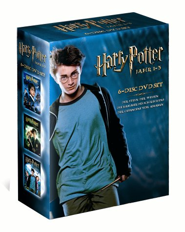 Bild von Harry Potter 1-3 Box Set (6 DVDs)