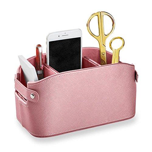 Levenger Robustes Produkt Hortensie Korb–Aufbewahrung und Organisation, Pink (ad8750PK) (Gefüttert-speicher-körbe)