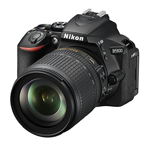 Nikon Dslr (Nikon D5600 Kit AF-S DX 18-105 VR Spiegelreflexkamera (8,1 cm (3,2 Zoll), 24,2 Megapixel) schwarz)