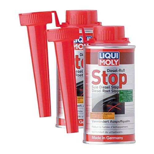 LIQUI MOLY 5180 2 x Stop hollín Diésel, 150 ml, FAP, aditivo de combustible