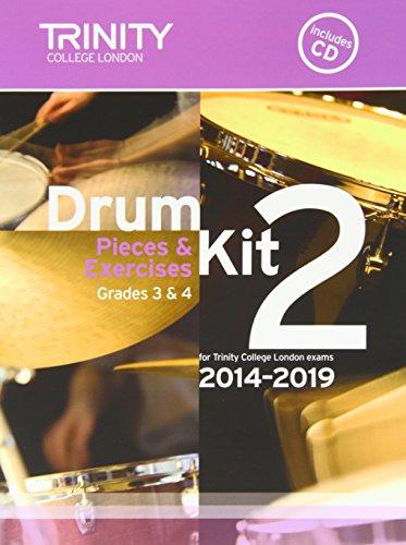 Drum Kit 2014-2019 Book 2 Grades 3 & 4 (With Free Audio CD) PDF