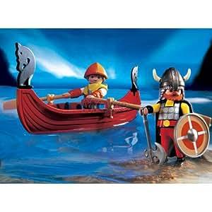 Playmobil Viking Viking boat 3156 (japan import)