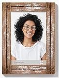 Dupla Portraitrahmen 20x30 cm, weiß/natur
