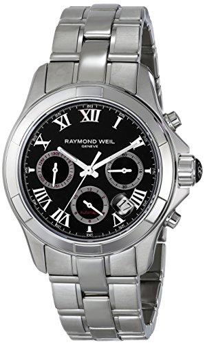 Raymond Weil 7260-ST-00208 - Reloj de Pulsera Hombre, Acero Inoxidable, Color Plata