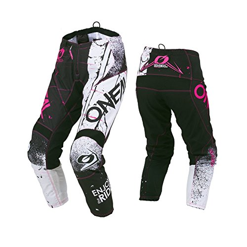 O\'Neal Element Shred Damen Motocross Hose Pink Enduro DR DH MTB All Mountain Bike, 010E-7, Größe 36