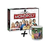 Big Bang Theory Monopoly The TBBT Gesellschaftsspiel Brettspiel Deutsch + Tasse (+ Gruppe Tasse)