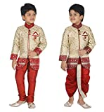 #9: ahhaaaa Sherwani, Payjama and Dhoti Pant Set for Boys