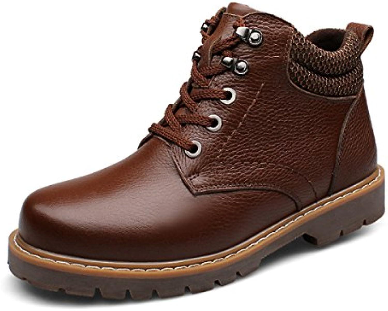 Otoño E Invierno Hombres Botas Martin Resistentes Al Desgaste Cálidos Zapatos De Hombre  -