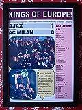 Sports Prints UK Ajax 1 AC Milan 0-1995 Champions League