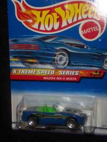 X-Treme Speed Series #4 Mazda MX-5 #968 Mint by Hot Wheels - 4 Speed-serie