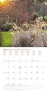 2018 English Country Gardens Calendar - teNeues Grid Calendar - Photography Calendar - 30 x 30 cm