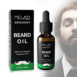 Misyo Male Natural Beard Oil for Mustache and Beard Growth as well as Skin Conditioner for Boyfriend and Daddy Gifts