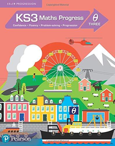 KS3 Maths Progress Student Book Theta 3