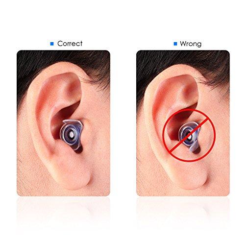 Ultrics antirumore tappi per le orecchie 2 coppie tripla for Tappi per orecchie antirumore per dormire in farmacia