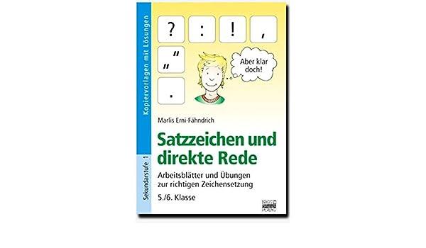 Brigg: Deutsch: Satzzeichen und direkte Rede: Arbeitsblätter und ...