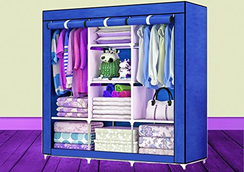 Berry Collection Fancy High-Quality- Model: 88130- Fashion-Cloth-Wardrobe-with-3-Door Shoe Rack Multipurpose  available at amazon for Rs.2599